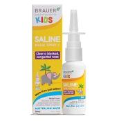 Brauer Kids Saline Nasal Spray 30ml