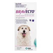 Bravecto Very Large Dogs 40-56kg 1 Chew