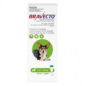 Bravecto Spot-On Dog Green 10 - 20kg 500mg