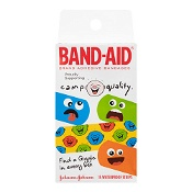 Band-Aid Camp Quality 15 Waterproof Strips