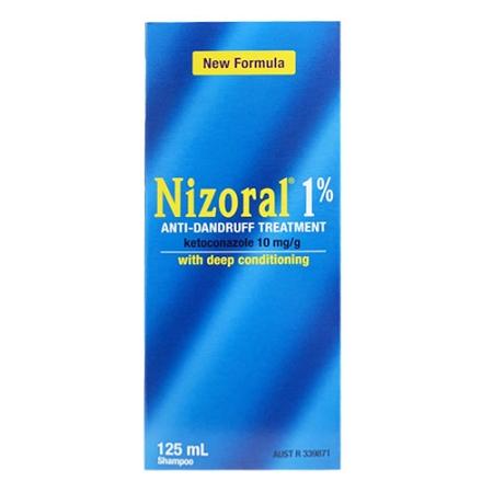 Nizoral Anti-Dandruff Treatment Shampoo 1% 125ml