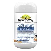 Natures Way Kids Smart DHA 300mg Triple Strength 50 Capsules