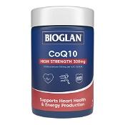 Bioglan COQ10 300mg Potent Antioxidant 60 Capsules