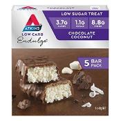 Atkins Low Carb Endulge Chocolate Coconut Bar 5 x 40g Pack