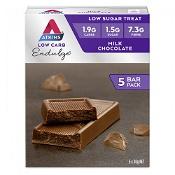 Atkins Low Carb Endulge Milk Chocolate Bar 5 x 30g Pack