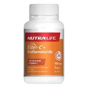 Nutra-Life Ester C + Bioflavonoids 100 Tablets