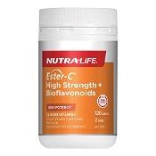 Nutra-Life Ester C High Strength + Bioflavonoids 120 Tablets