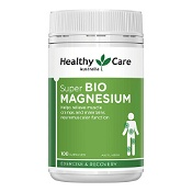 Healthy Care Super Bio Magnesium 100 Capsules
