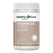Healthy Care Vitamin D3 1000IU 250 Capsules