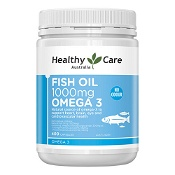 Healthy Care Fish Oil 1000mg Omega-3 400 Capsules