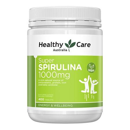 Healthy Care Super Spirulina 400  Tablets