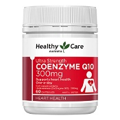 Healthy Care Ultra Strength Co Enzyme Q10 300mg 60 Capsules
