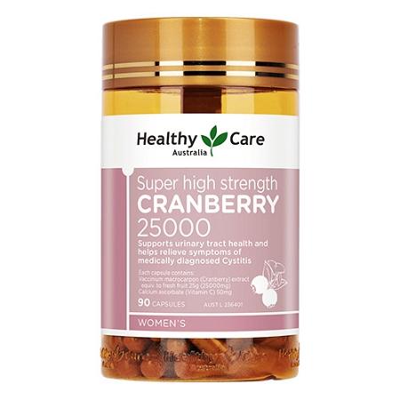 Healthy Care Super Cranberry 25000 90 Capsules