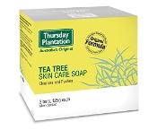 Thursday Plantation Tea Tree Soap Original 3 x 125g