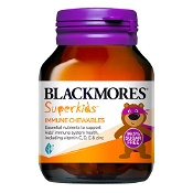 Blackmores Superkids Immune Chewable 60 Tablets