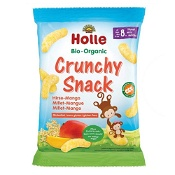 Holle Organic Millet Mango Crunchy Snack 25g