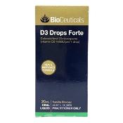 BioCeuticals D3 Drops Forte Oral Liquid 20ml (New Formula)
