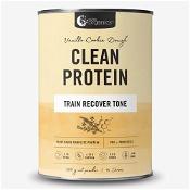 Nutra Organics Clean Protein Vanilla Cookie Dough 500g