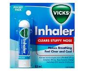 Vicks Nasal Inhaler 0.5ml (Exp: December 2021, no refunds or exchanges)