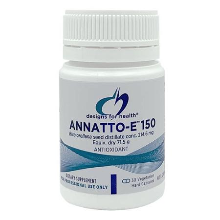 Designs for Health Annatto-E 150mg 30 Vegetarian Capsules