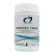 Designs for Health Omegavail Tg1000 120 Softgel Capsules