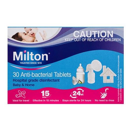 Milton Anti-Bacterial 30 Tablets