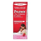 Tylenol For Children 2+ Years Strawberry 200ml