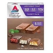 Atkins Low Carb Endulge Variety Pack 5 x 30g/40g Pack