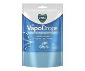 Vicks VapoDrops Lozenges Cooling Peppermint 24 Pack