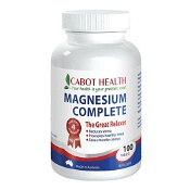 Cabot Health Magnesium Complete 100 Tablets