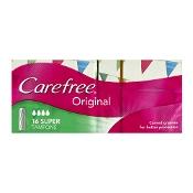 Carefree Original Tampons Super 16 Pack