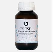Hilde Hemmes Herbals St. Marys Thistle 10000mg 120 Capsules