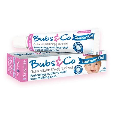 Bubs & Co Baby Teething Gel 15g