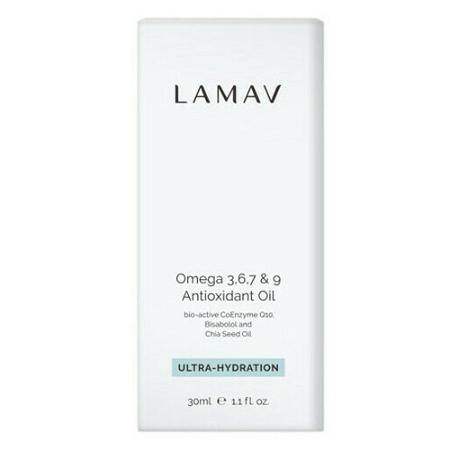 LAMAV Omega 3, 6, 7 & 9 Antioxidant Oil 30ml