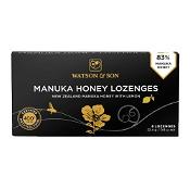 Watson & Son 400+ Manuka Honey with Lemon Lozenges 8 Pack