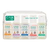 Gaia Natural Baby Starter Kit 5 x 50ml