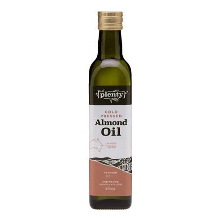 Plenty Cold Pressed Almond Oil 375ml