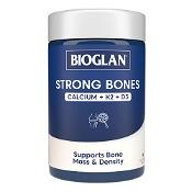Bioglan Strong Bones Calcium + K2 + D3 90 Tablets