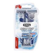 Schick Quattro Titanium Disposable Razor Blades 3 Pack