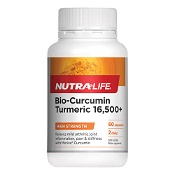 Nutra-Life Bio-Curcumin Turmeric 16500+ 60 Capsules (New Formula)