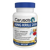 Carusos King Krill 2000mg 30 Capsules