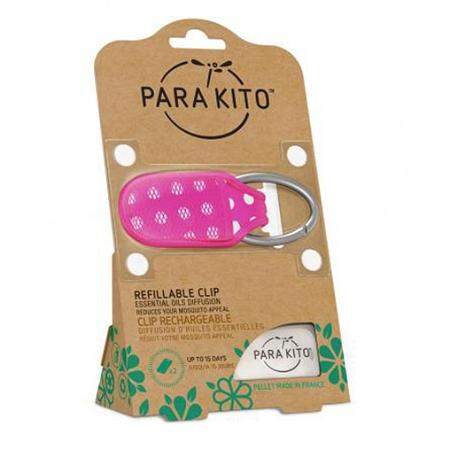 Parakito Mosquito Repellent Clip (Assorted colours, colour selected at random)
