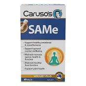 Carusos SAMe Life Eze Plus 60 Tablets