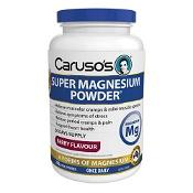 Carusos Super Magnesium Powder Berry 250g
