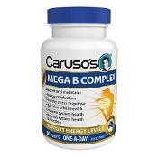 Carusos Mega B Complex 60 Tablets