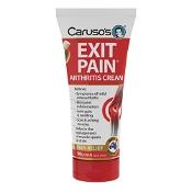 Carusos Exit Pain Arthritis Cream 100g