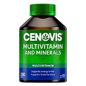 Cenovis Multivitamin & Minerals 200 Tablets