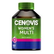 Cenovis Once Daily Womens Multi Vitamin 100 Capsules