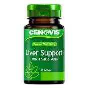 Cenovis Liver Support Milk Thistle 7000mg 75 Tablets
