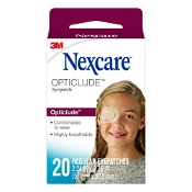 Nexcare by 3M Opticlude Orthoptic Eye Patch Regular 20 Pack